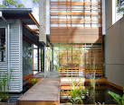 reclaimed wood house