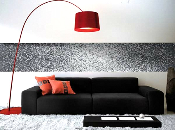red-arc-lamp