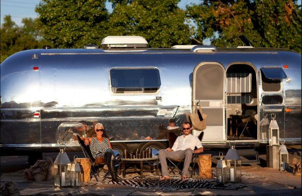 revamped Moroccan Style 1969 Airstream 1