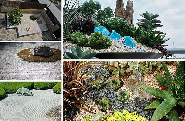 Gardening Design Ideas front garden seating area 20 Fabulous Rock Garden Design Ideas