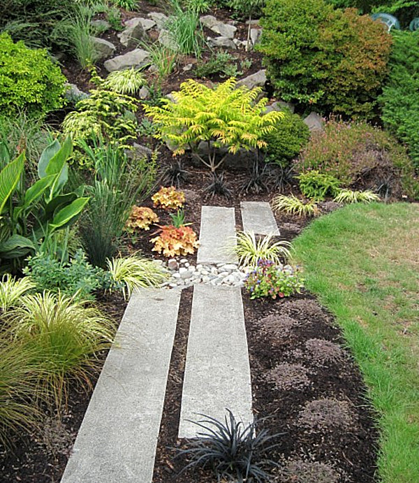 20 fabulous rock garden design ideas - Garden pathway design ideas with some natural stones trails ...