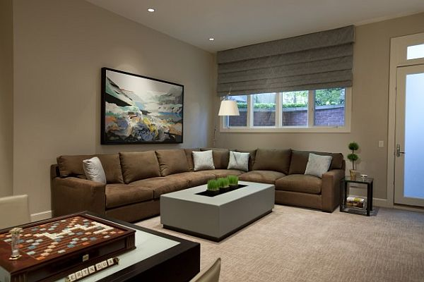 The Best Window Blinds For Living Room Decorate Roman Shades In The Living Room Windows Decoist