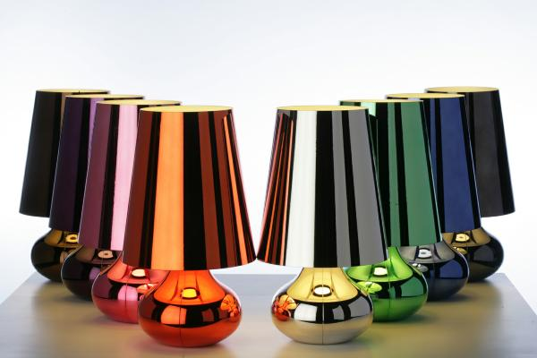 shiny modern table lamp Modern Lamps Ideas to Light the Way