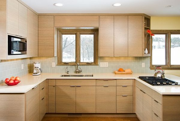 view in gallery by wb builders - Modern Kitchen Cabinets