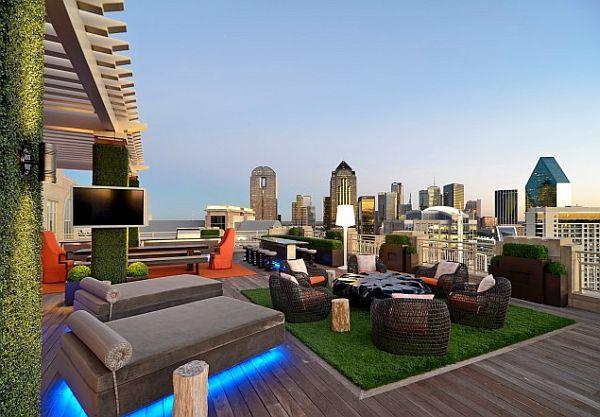 sleek-outdoor-patio-furnitur-with-neon-lights
