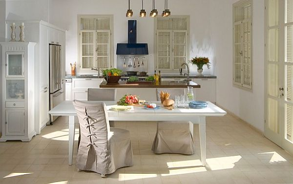 View In Gallery Slipcovers For Kitchen Tables Selecting High Quality Slip  Covers
