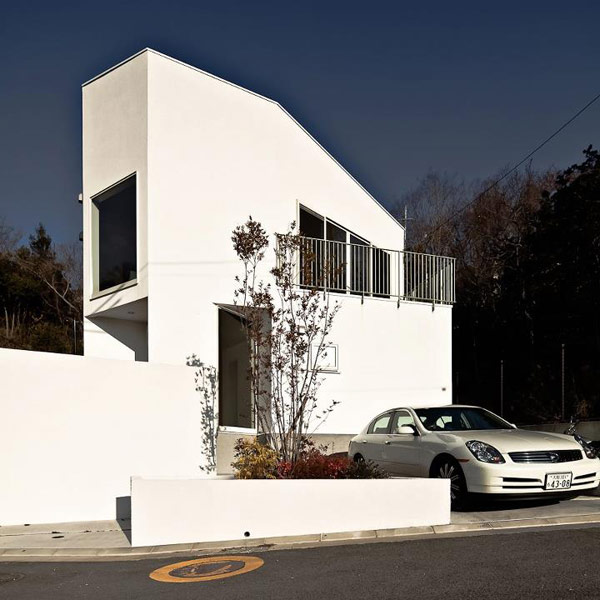 Nomura 24 minimalist japanese home for Minimalist japanese homes
