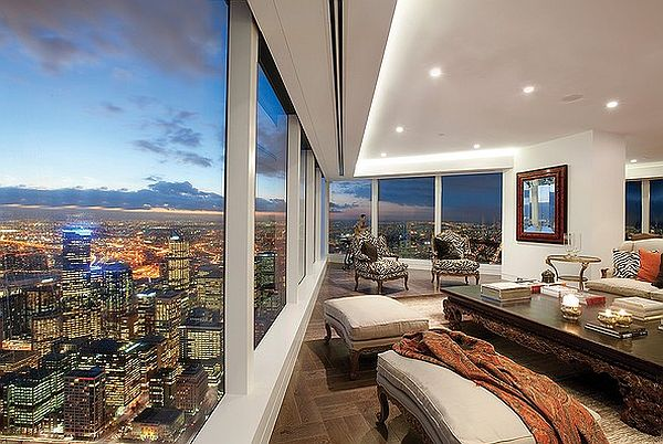 stunning penthouse views - eureka tower