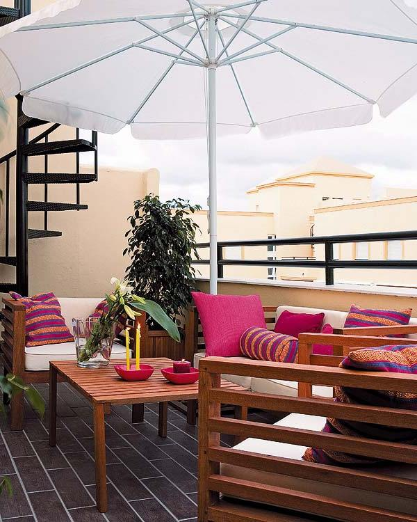 View in gallery. Stylish Balcony Decor Ideas