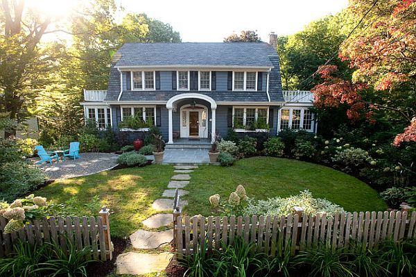 Ideas for instantly improving curb appeal for Garden design ideas curb appeal