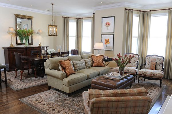 traditional living room style