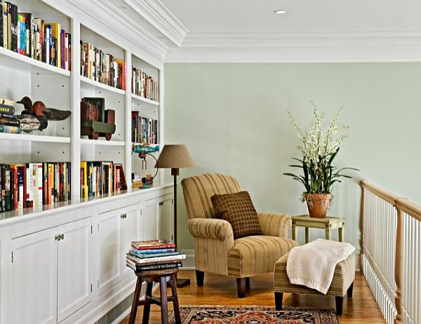 traditional reading corner design