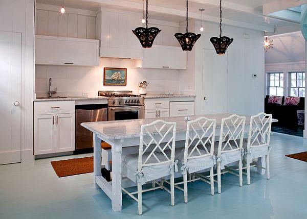 traditional-white-kitchen-with-zen-blue-flooring