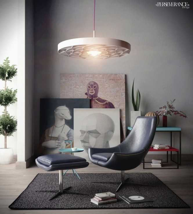 ultra contemporary reading chair
