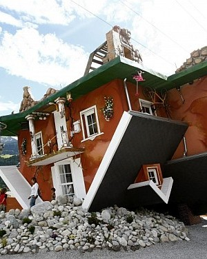 upside down house - Terfens, Austria 1