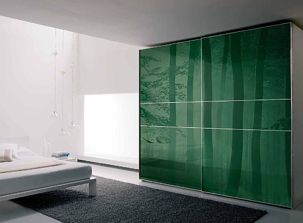 it only makes sense to use sliding wardrobe doors that offer the same