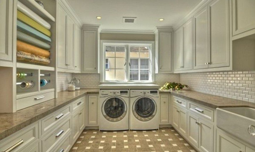 Delicieux Top Laundry Room Storage Ideas