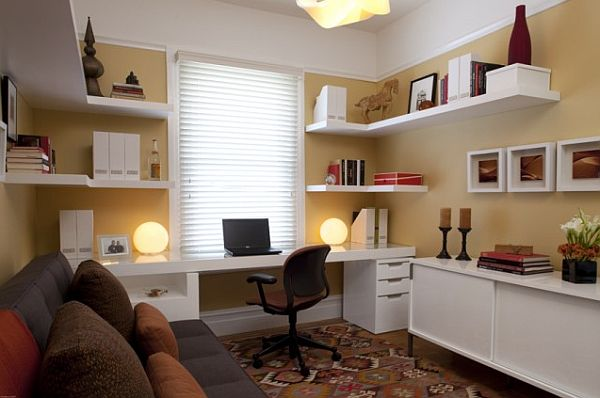 Tips to make the most of your home office space - Home office room design ...