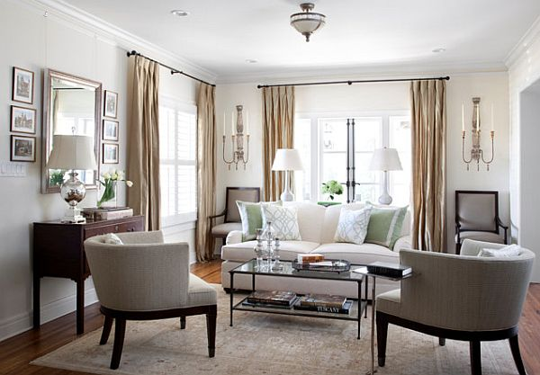 white living room traditional styles How to Maintain Traditional Designs without Becoming Boring