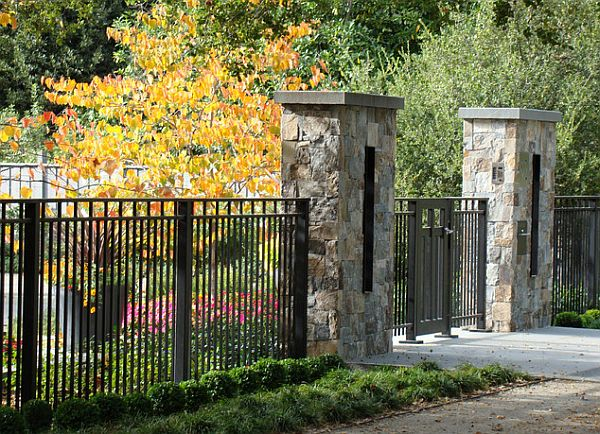 5 backyard fence types - Fence designs for front yards ...