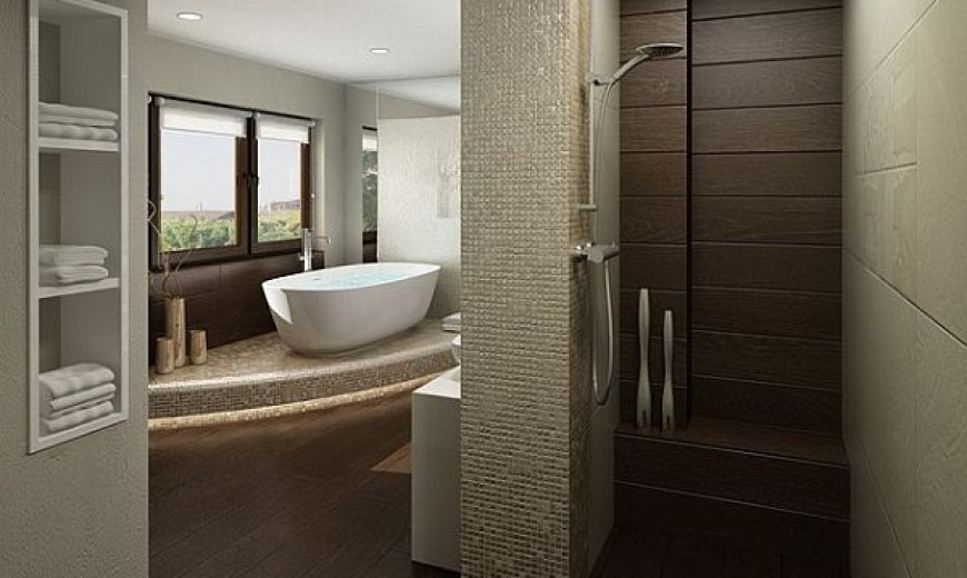 Doorless Showers: How to Pull Off the Look