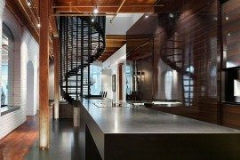 Candy Factory Lofts Penthouse presents a lavish bundle of contradictions!