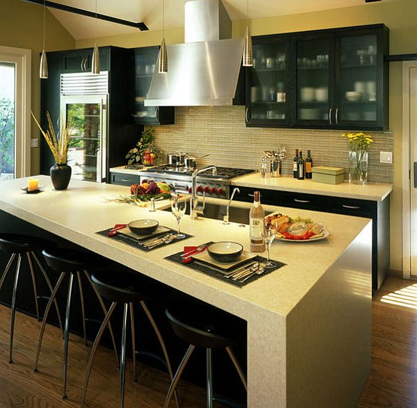 Top kitchen countertop materials for Best material for kitchen counters