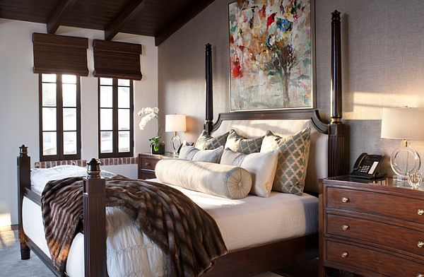 Comfortable master bedroom