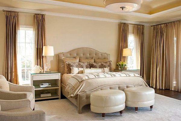 How to create a five star master bedroom Master bedroom decor idea