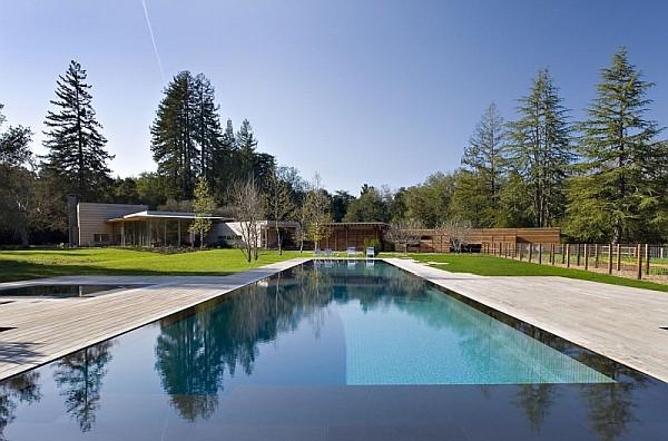 Creekside Residence 3 large sleek pool