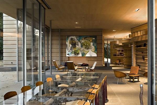Creekside Residence 8 lavish dining room