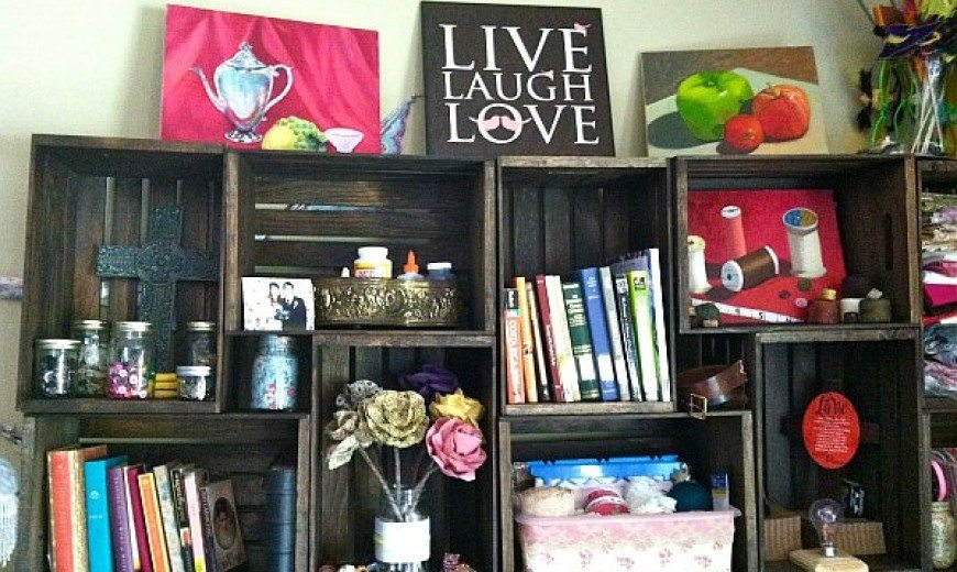 DIY: Brighten Up Your Bookshelf and Reading Life