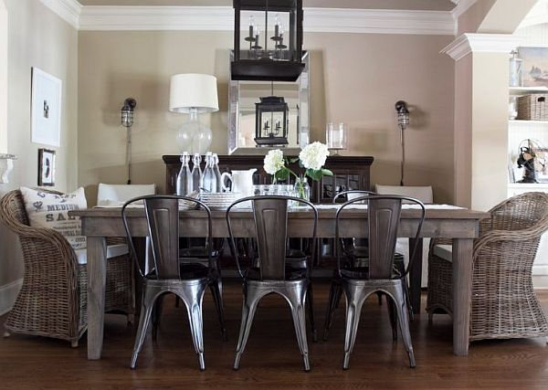 Dining room decor with the Marais A bistro chair Stylish Bistro Chairs for a European Touch