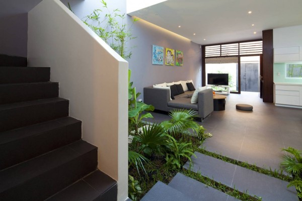 Contemporary Vietnamese Home in Ho Chi Minh City Charms with Fancy
