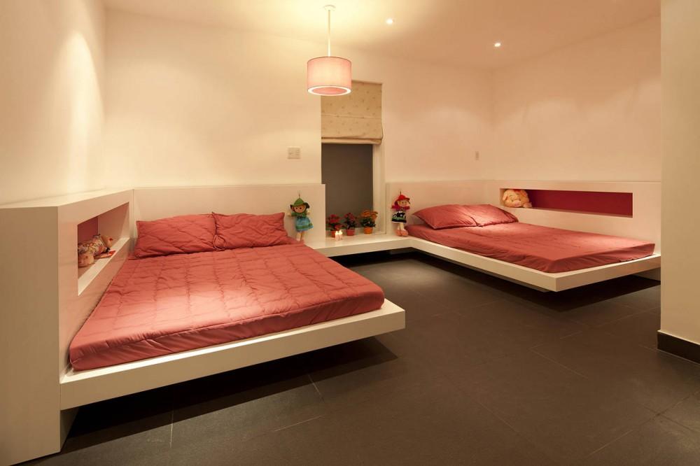 Go Vap Modern House – kids bedroom design