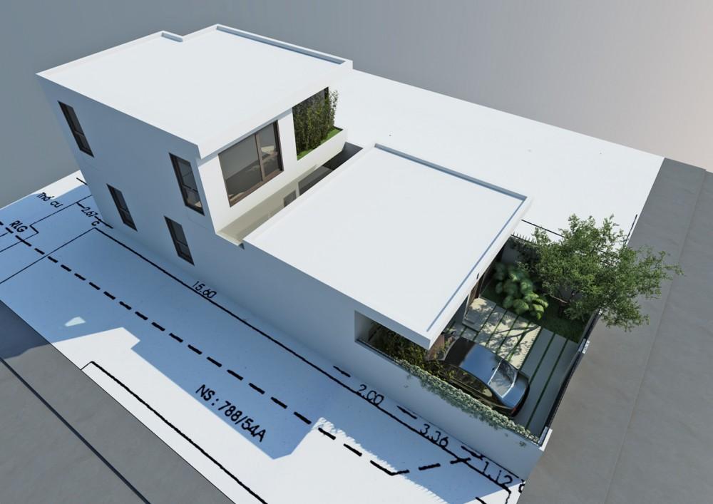 Go Vap Modern House – plan 1