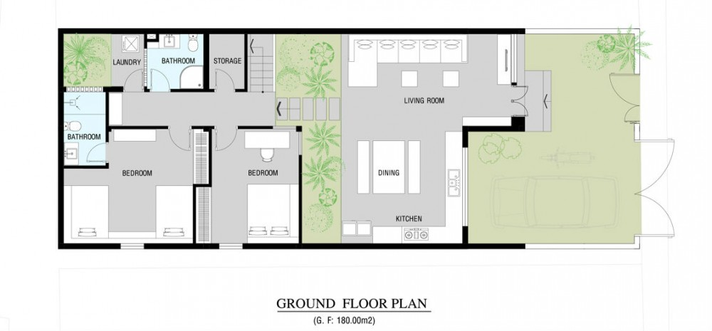 Go Vap Modern House – plan 3