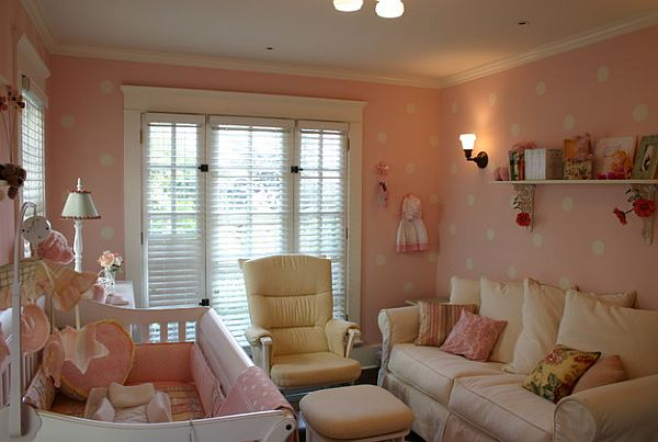 Gorgeous baby girls pink room Nurturing Nursery Room Designs: Top Eight Things for Your Baby