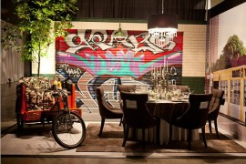 Graffiti Dining Room Design