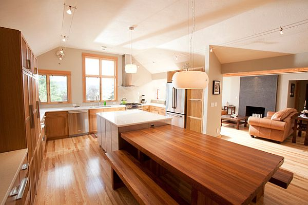 Kitchen Island With Breakfast Bar And Table Decoist