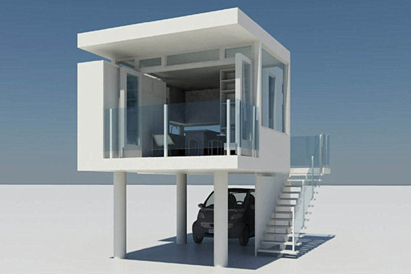 Tiny houses the best in modern compact living for Elevated small house design