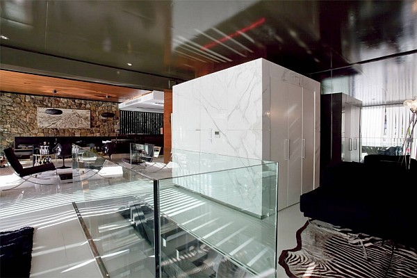 Luxury Greek Villa - contemporary living room design