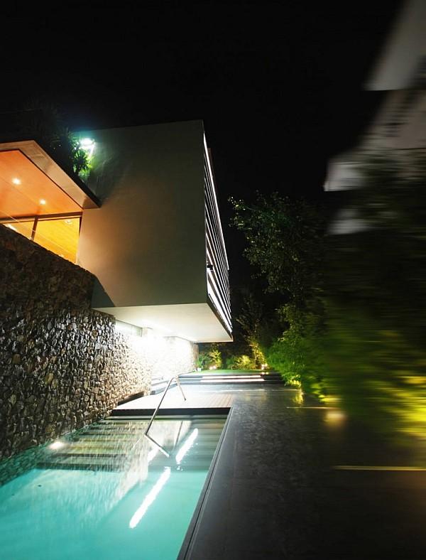 Luxury Greek Villa – lap pool