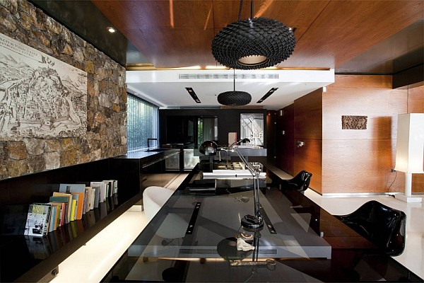 Luxury Greek Villa – posh home office design