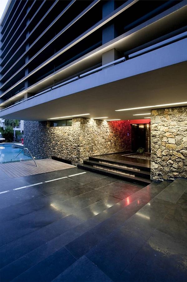 Luxury Greek Villa - window treatment