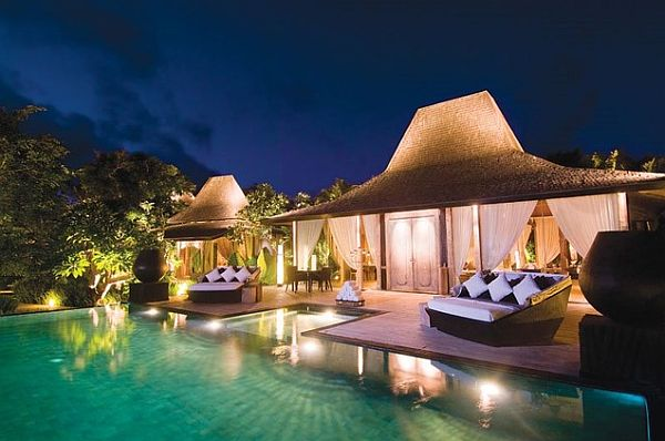 Luxury Villas Resorts in Uluwatu Bali Decorating with a South Pacific Island Influence
