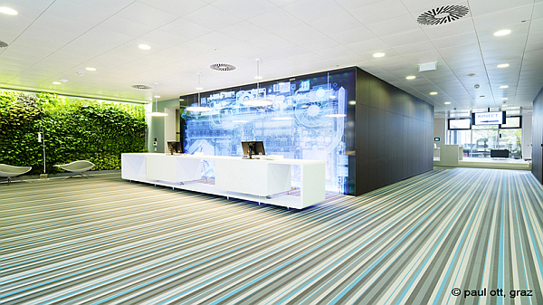 Microsoft Vienna HQ office design 1 Microsoft Headquarters in Vienna, Where Inspiration Meets Innovation