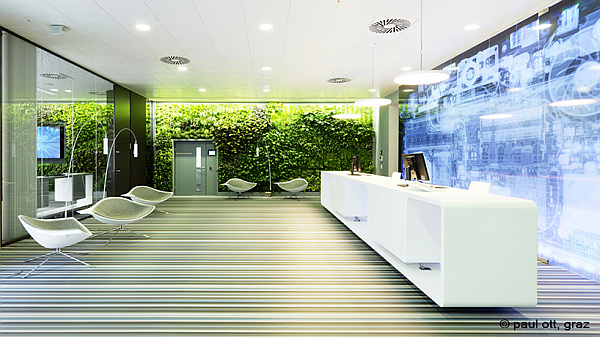 Microsoft Vienna HQ office design 2 Microsoft Headquarters in Vienna, Where Inspiration Meets Innovation