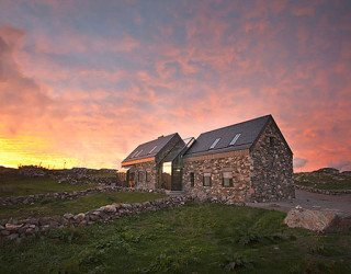 Connemara Residence: Contemporary Styled Classic Stone Cottage