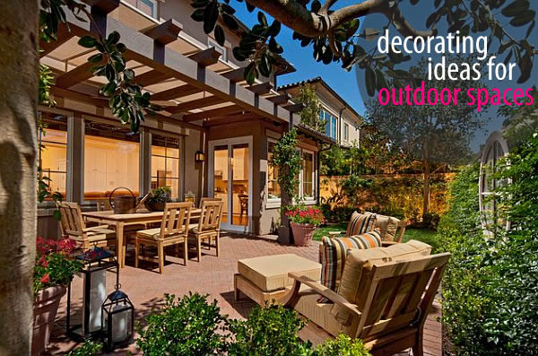 Outdoor decoration ideas 5 Ways to Revive Your Outdoor Space